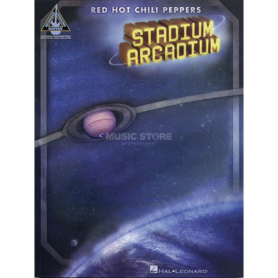 Hal Leonard Red Hot Chili Peppers: Stadium Arcadium Produktbillede