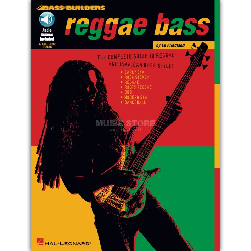 Hal Leonard Reggae Bass Sheet Music and CD Produktbillede