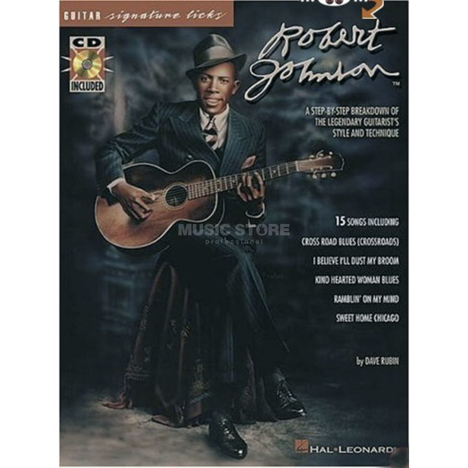 Hal Leonard Robert Johnson Guitar Signature Licks, DVD Produktbild
