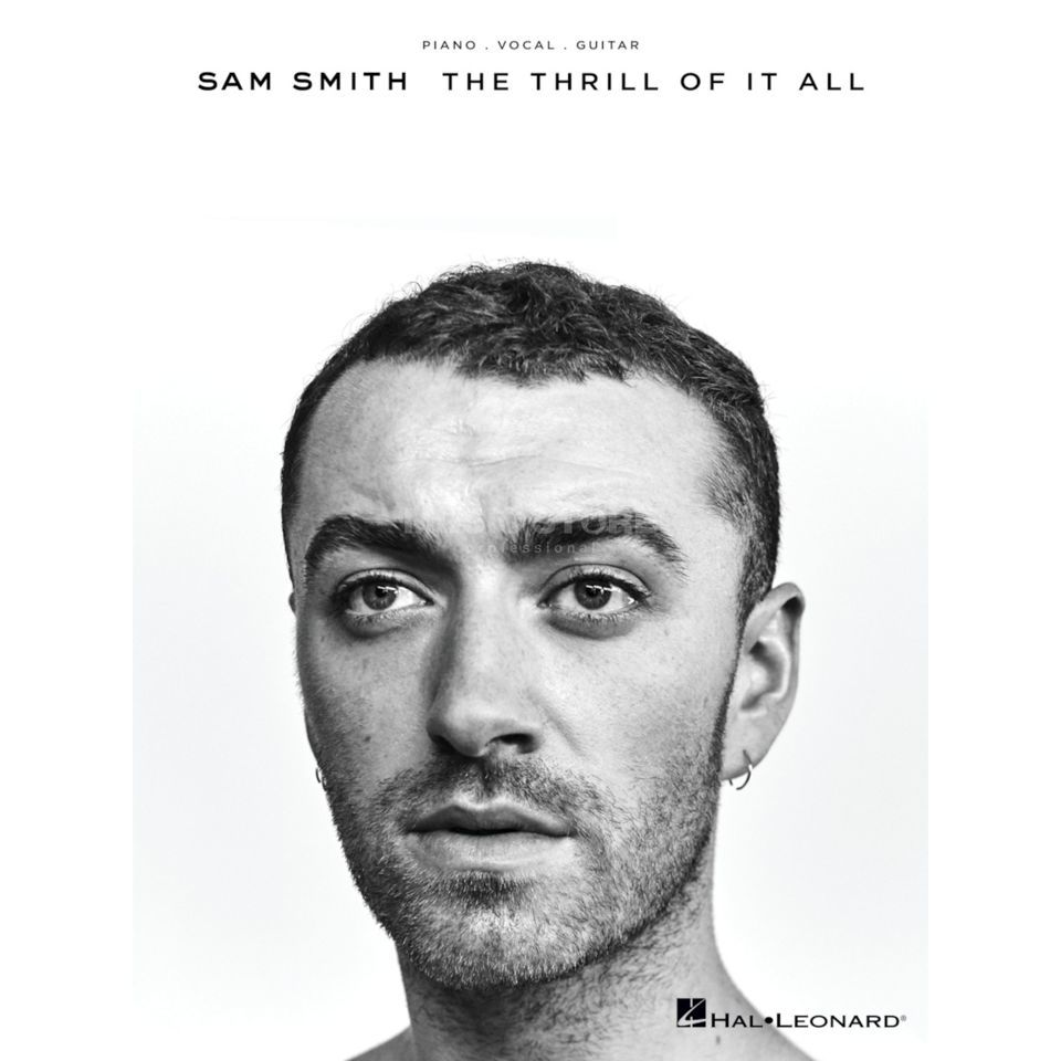 Hal Leonard Sam Smith: The Thrill Of It All Product Image