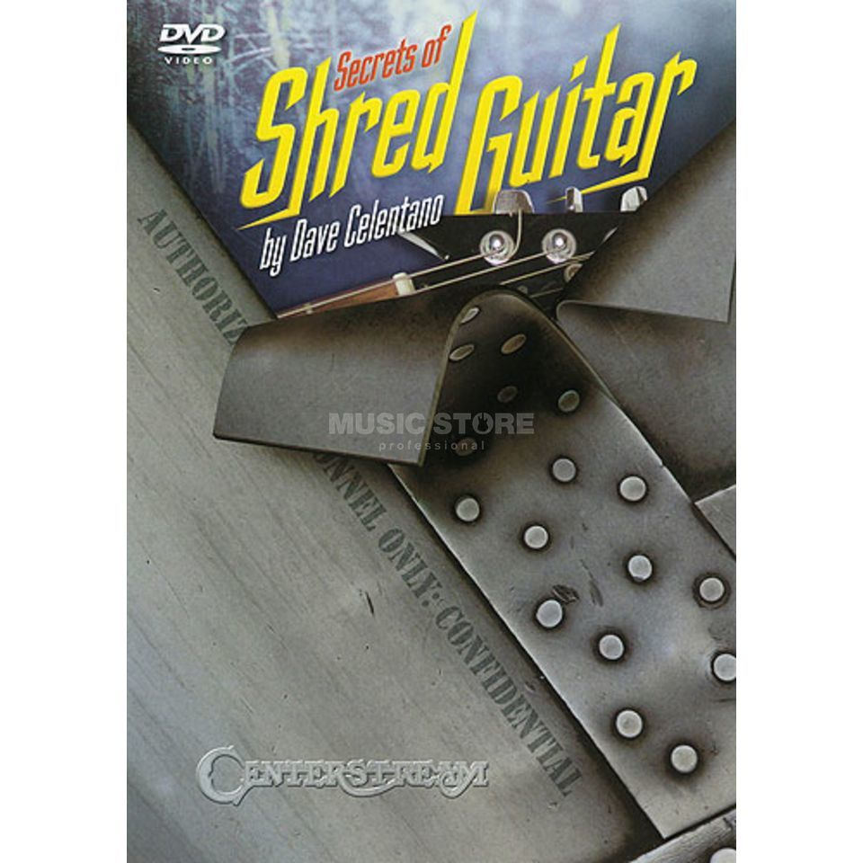 Hal Leonard Secrets Of Shred Guitar DVD Produktbillede
