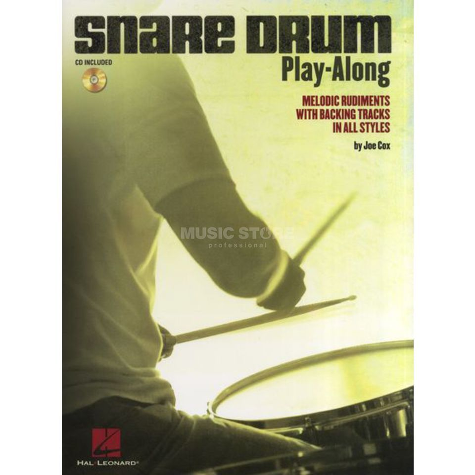 Hal Leonard Snare Drum Play-Along Melodic Rudiments, Book and CD Produktbillede