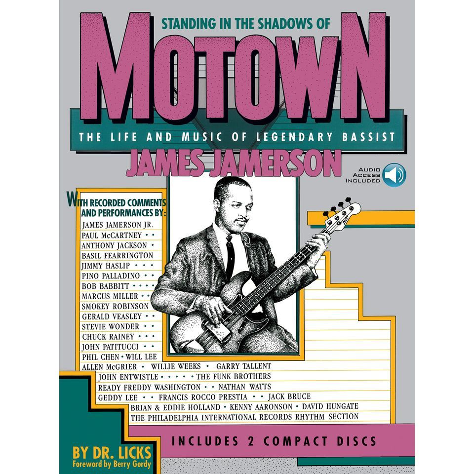 Hal Leonard Standing In The Shadows Of Motown Produktbild