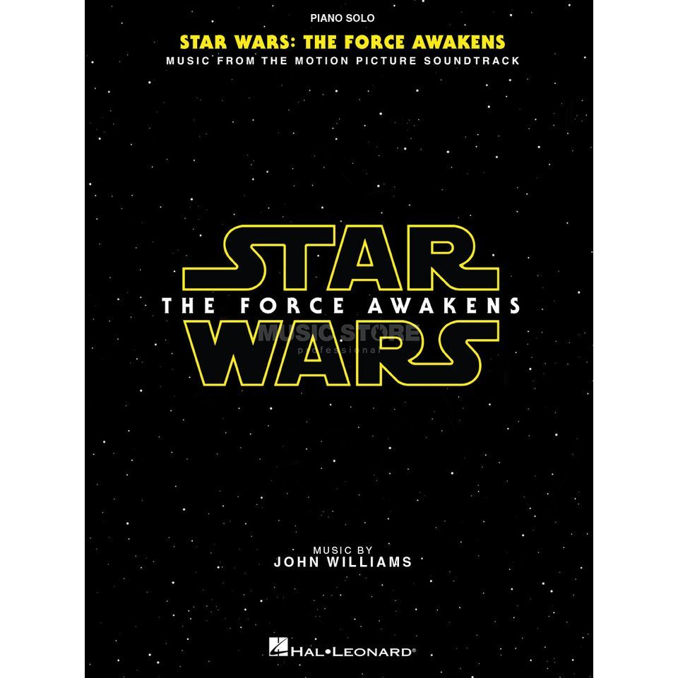 Hal Leonard Star Wars: Episode VII – The Force Awakens Solo Piano Produktbild
