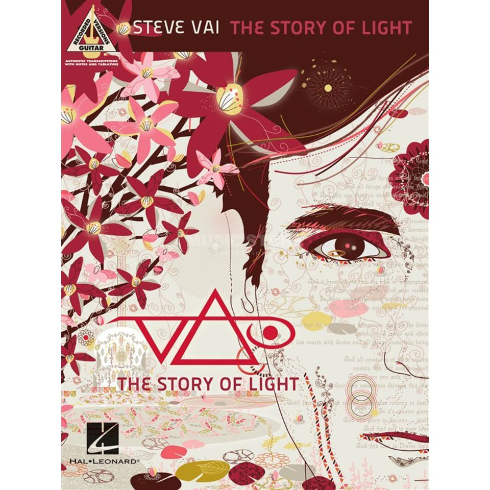Hal Leonard Steve Vai: The Story Of Light Produktbillede