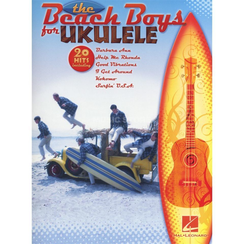 Hal Leonard The Beach Boys For Ukulele Songbuch Produktbild