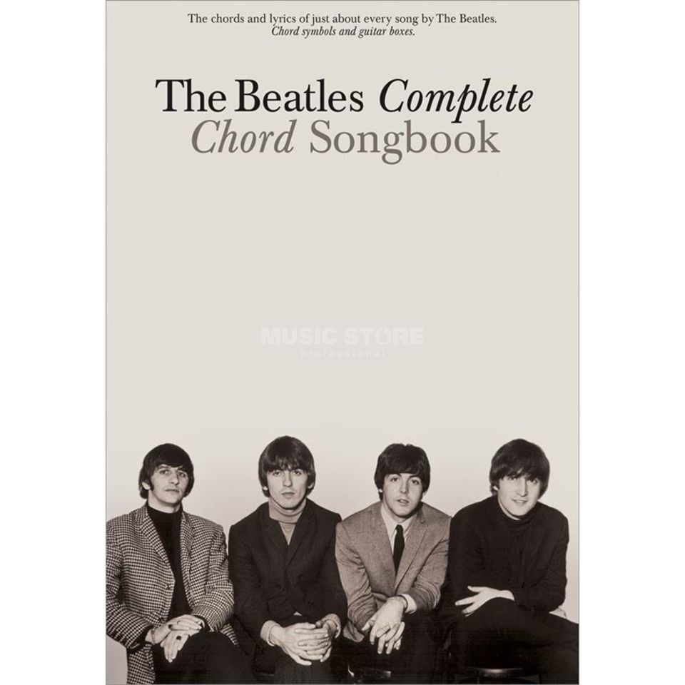 Hal Leonard The Beatles Complete Chord Songbook Product Image