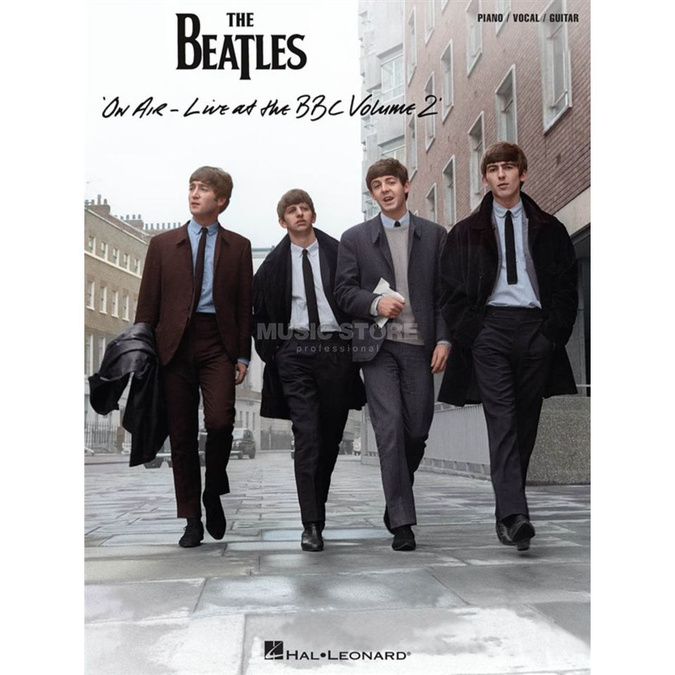 Hal Leonard The Beatles: Live at the BBC 2 PVG Produktbild