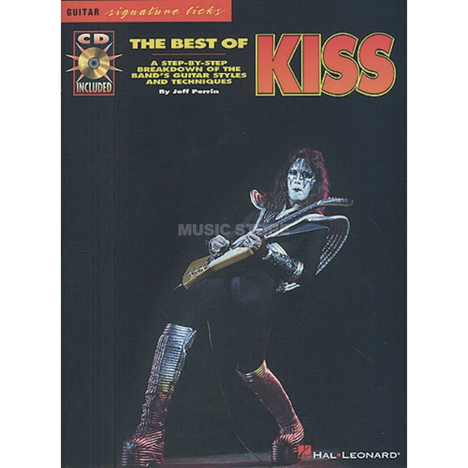 Hal Leonard The Best Of Kiss Guitar Signature Licks TAB Produktbillede