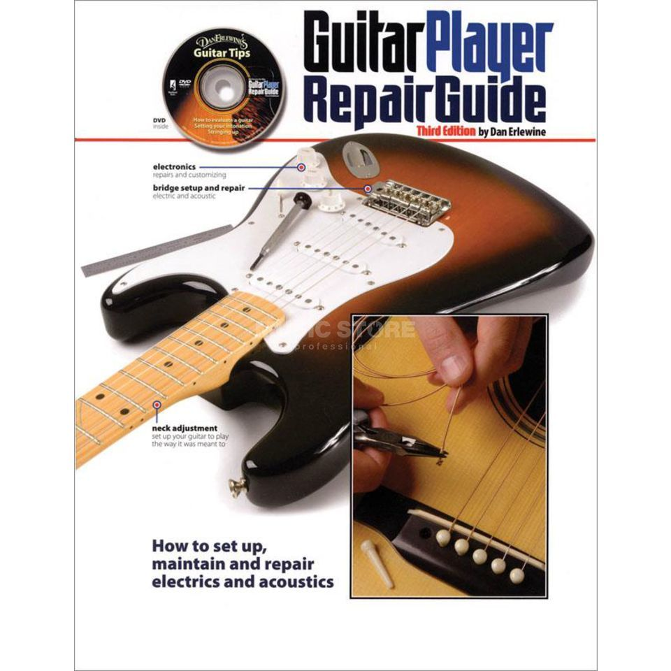 Hal Leonard The Guitar Player Repair Guide Dan Erlewine Produktbillede