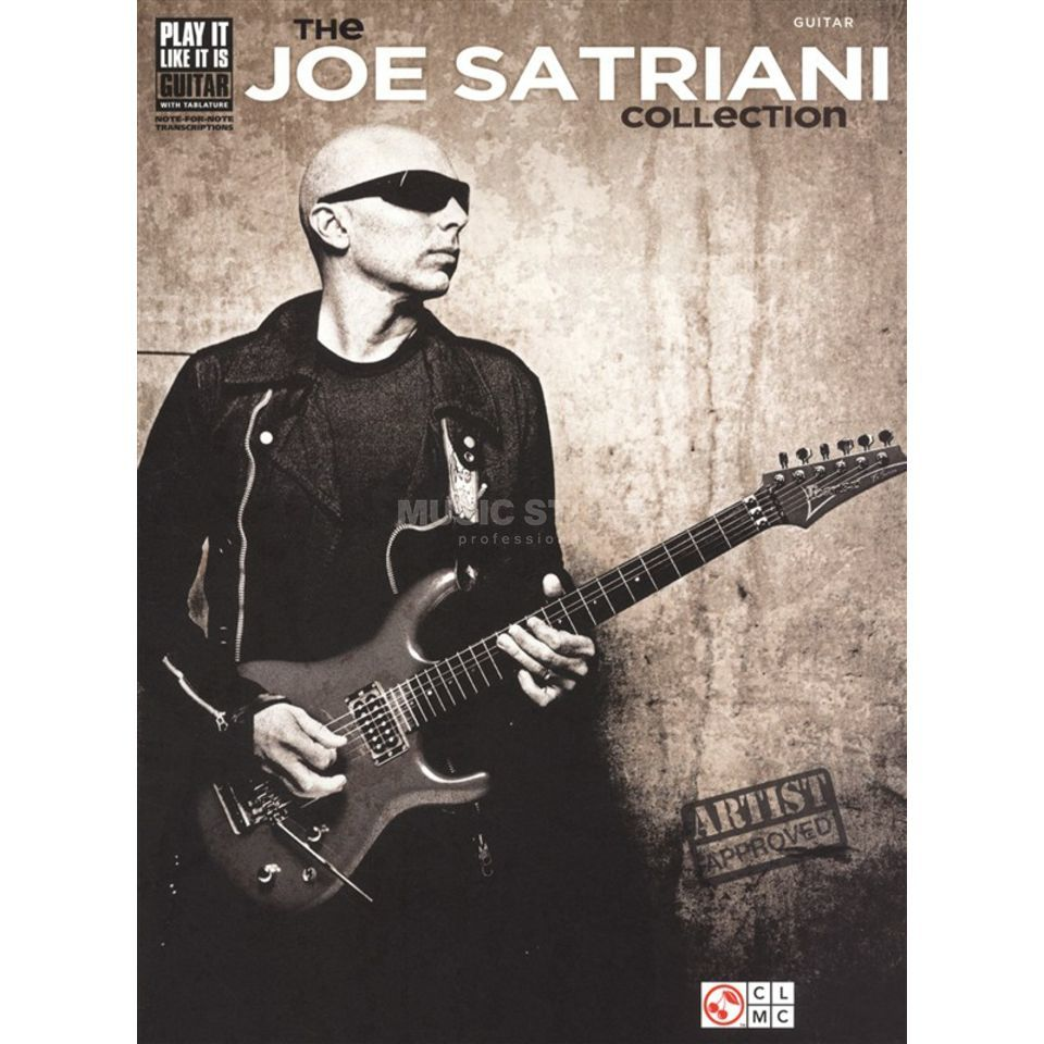 Hal Leonard The Joe Satriani Collection TAB Produktbild