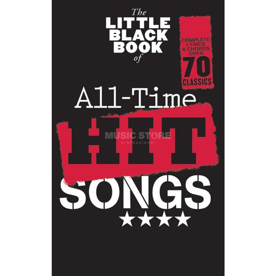 Hal Leonard The Little Black Book Of All-Time Hit Songs Produktbillede