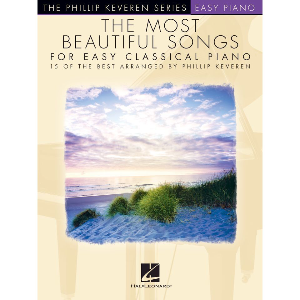 Hal Leonard The Most Beautiful Songs for Easy Classical Piano Product Image