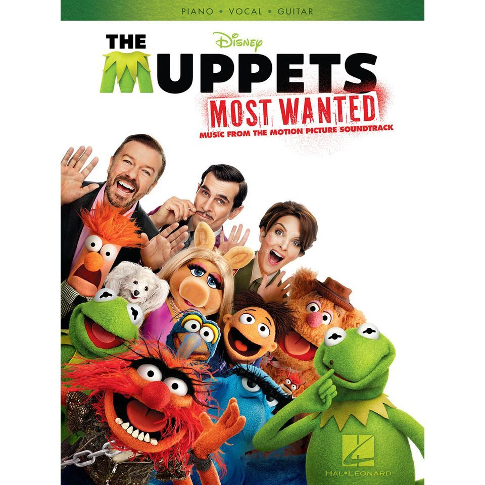 Hal Leonard The Muppets Most Wanted Soundtrack PVG Produktbillede