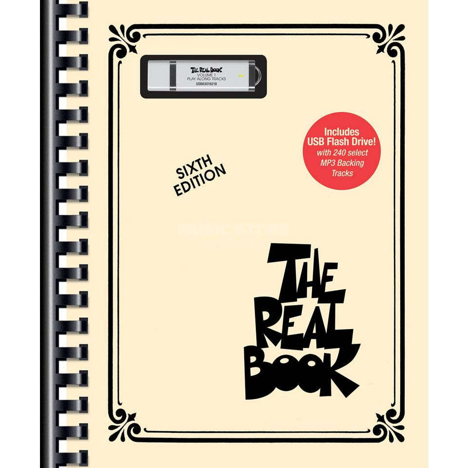 Hal Leonard The Real Book - Sixth edition C Instruments, USB Flash Drive Produktbillede