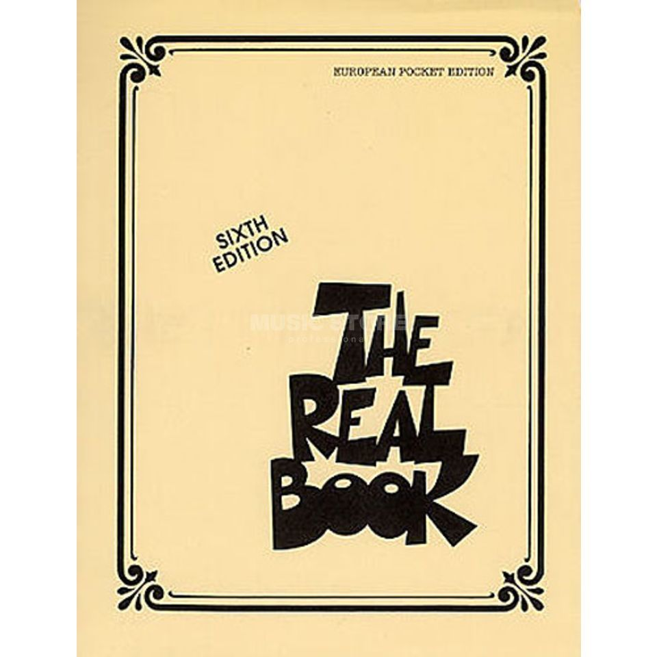 Hal Leonard The Real Book: Volume I Pocket C Instrumente - Sixth Edition Produktbillede