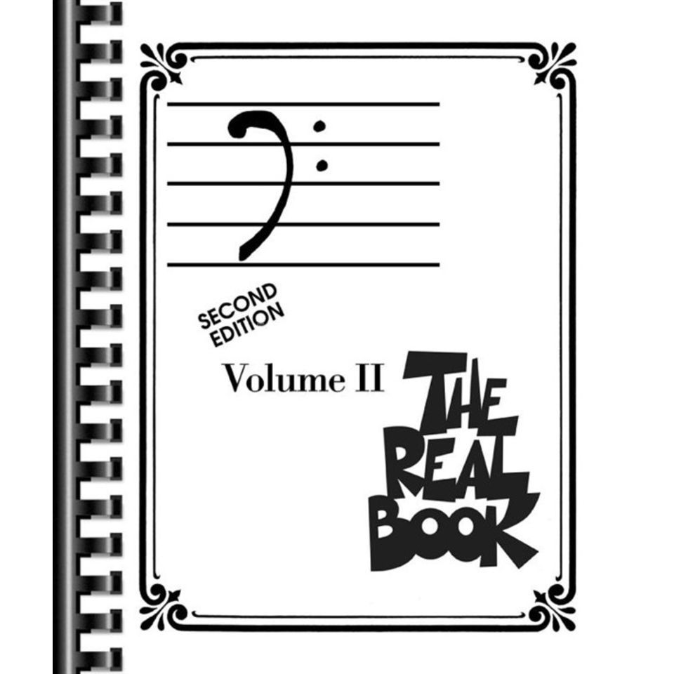 Hal Leonard The Real Book: Volume II - Second Edition (Bass Schlüssel) Produktbild