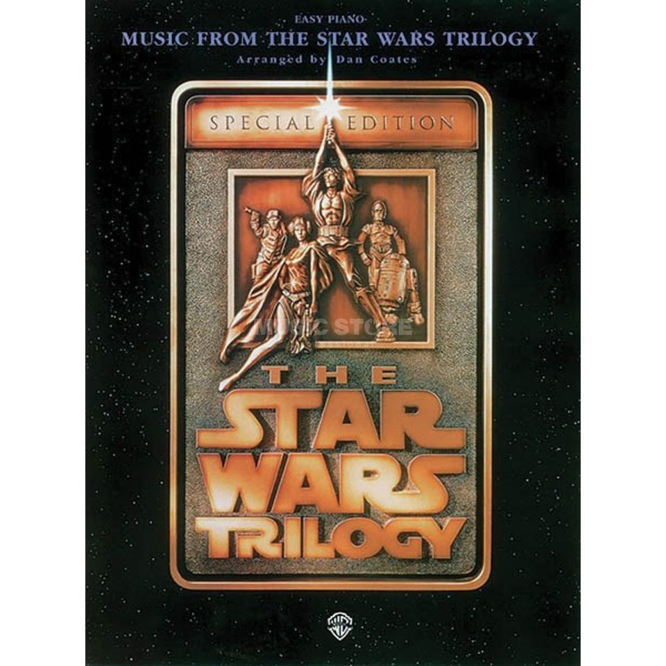 Hal Leonard The Star Wars Trilogy Easy Piano (Special Edition) Product Image