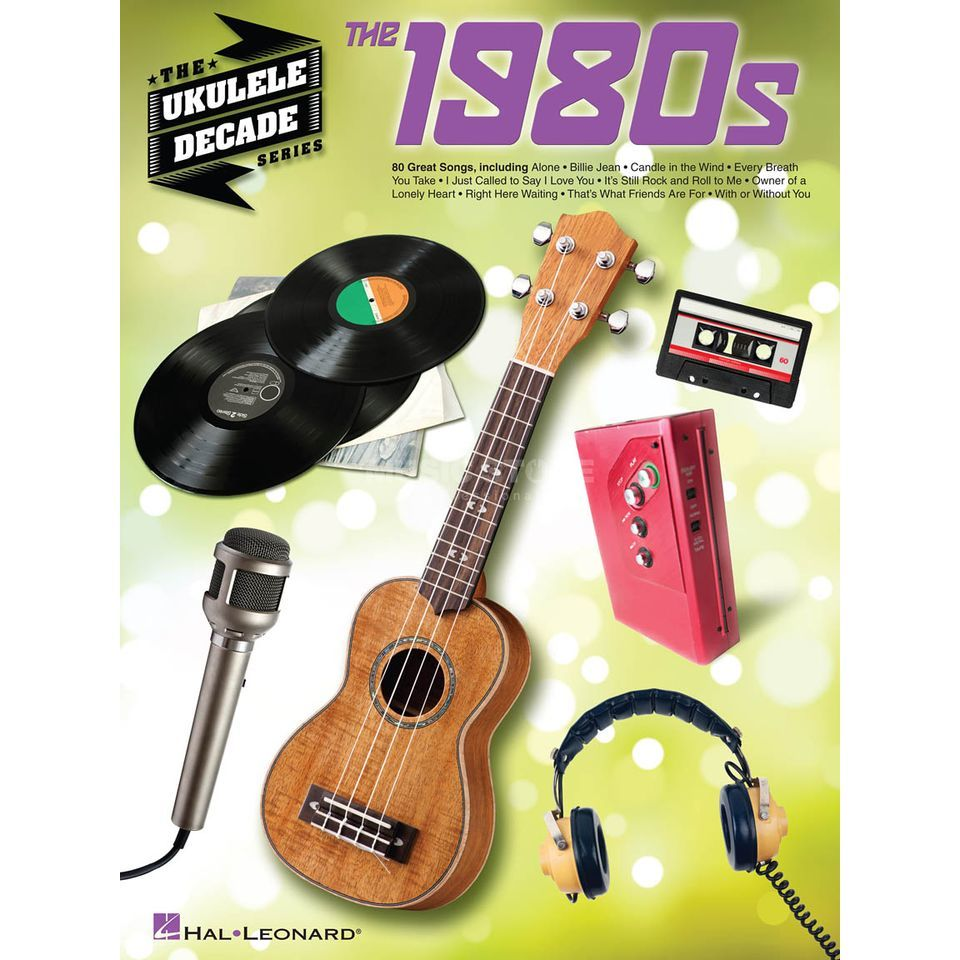 Hal Leonard The Ukulele Decade Series: 80s  Produktbild