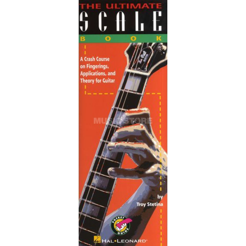 Hal Leonard The Ultimate Scale Book Troy Stetina, Pocket Guide Produktbillede