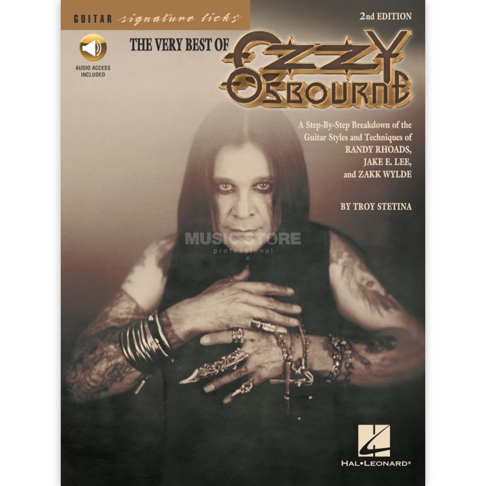 Hal Leonard The Very Best Of Ozzy Osbourne Guitar Signature Licks TAB Produktbild