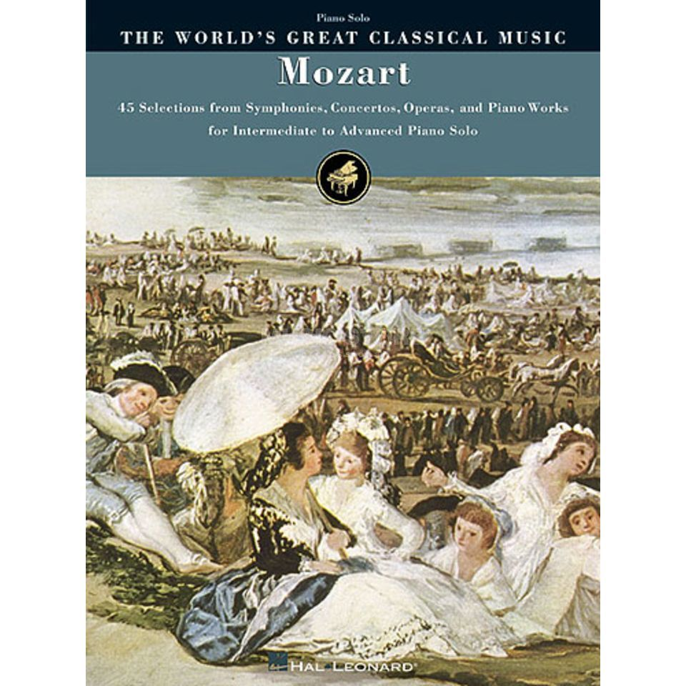 Hal Leonard The World's Greatest Classical Music: Mozart Produktbild