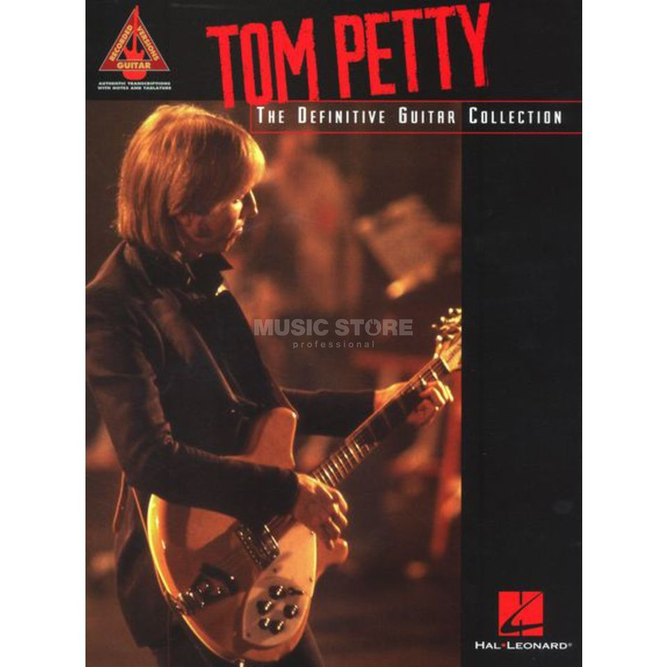 Hal Leonard Tom Petty: Definitive Guitar TAB Produktbild