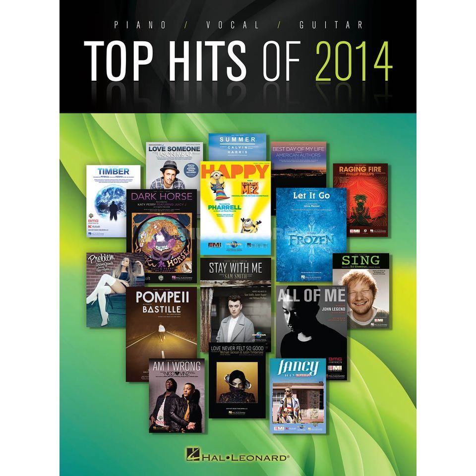 Hal Leonard Top Hits Of 2014: PVG Songbook Produktbild