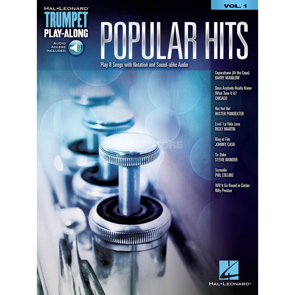 Hal Leonard Trumpet Play-Along Volume 1: Popular Hits Produktbild