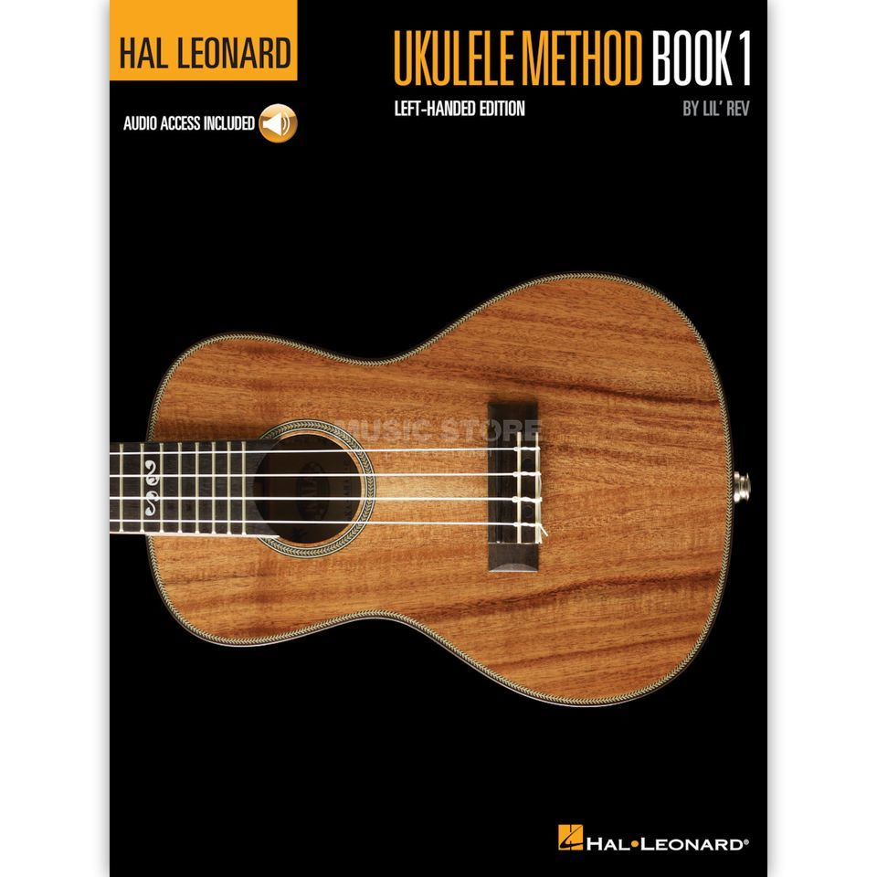 Hal Leonard Ukulele Method: Book 1 Left-Handed Edition Produktbillede