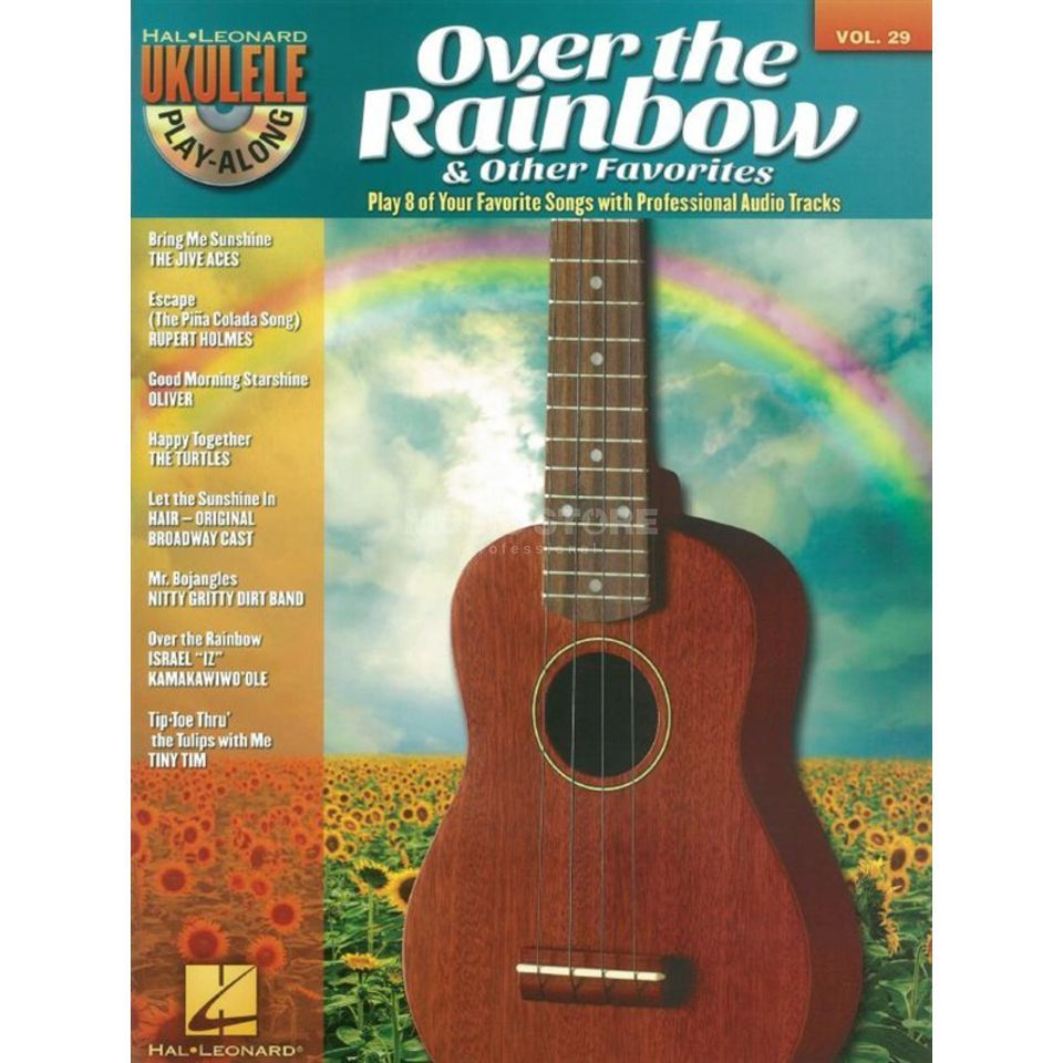 Hal Leonard Ukulele Play-Along: Over The.. Vol. 29, Ukulele mit CD Produktbild