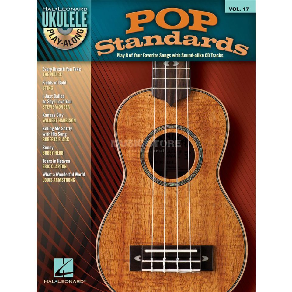 Hal Leonard Ukulele Play Along: Pop Stand. Vol. 17, Ukulele incl. CD Produktbillede
