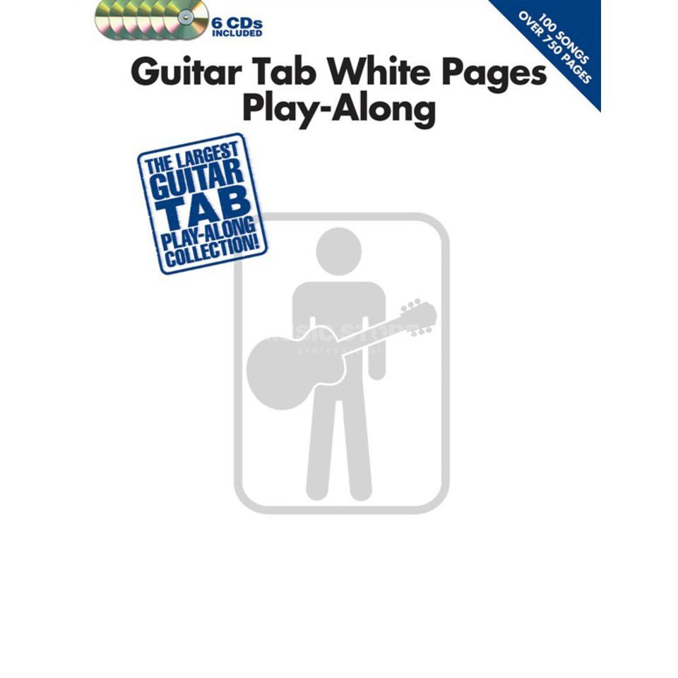 Hal Leonard White Pages Guitar Play-Along TAB, CD Produktbillede