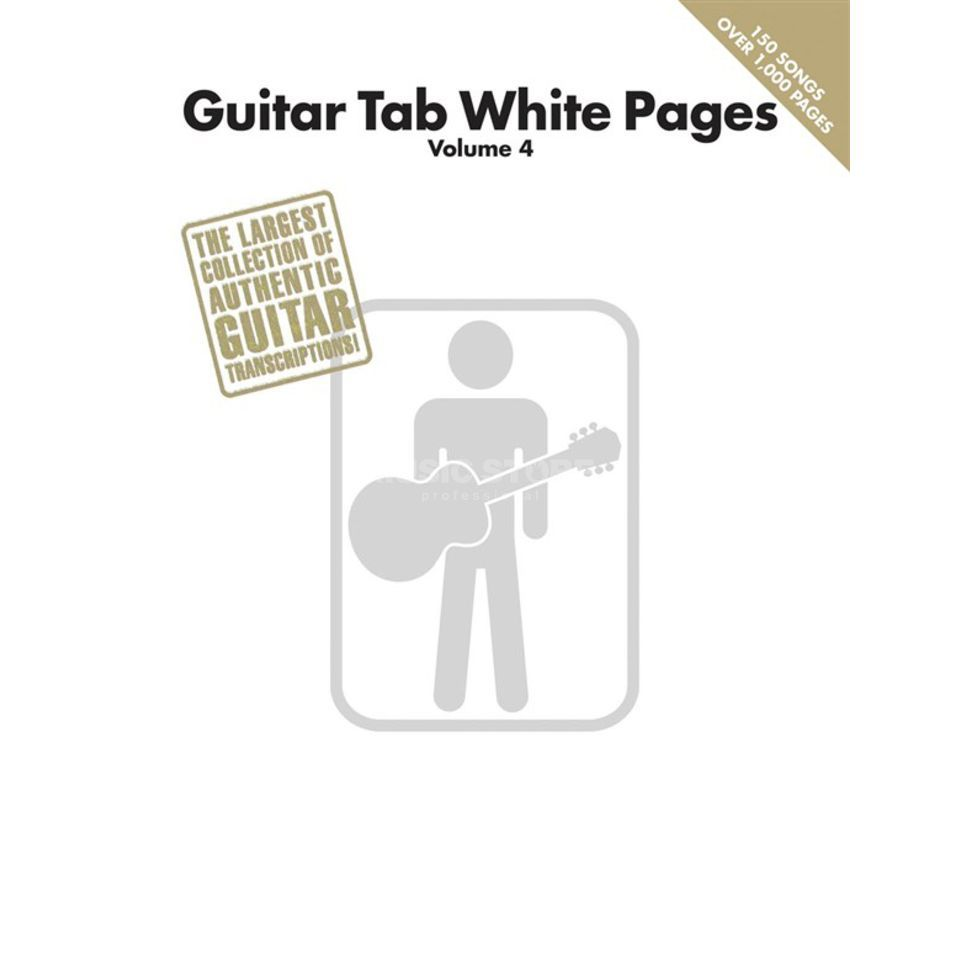 Hal Leonard White Pages Guitar Vol. 4 TAB Produktbild