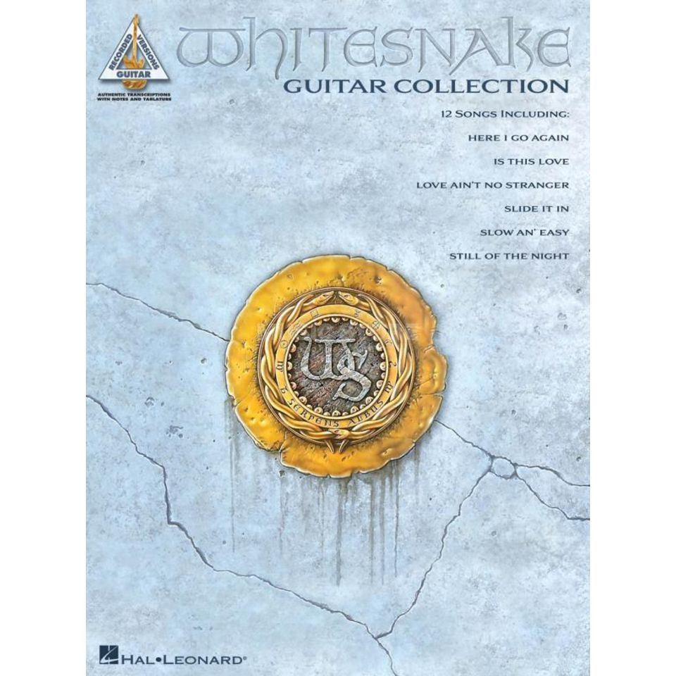 Hal Leonard Whitesnake Guitar Collection TAB Produktbild