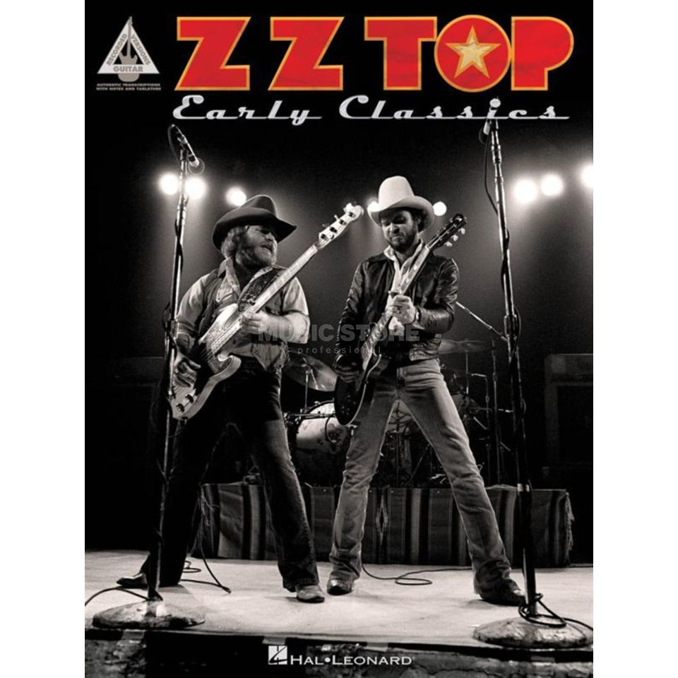 Hal Leonard ZZ Top: Early Classics Guitar Recorded Versions Produktbild