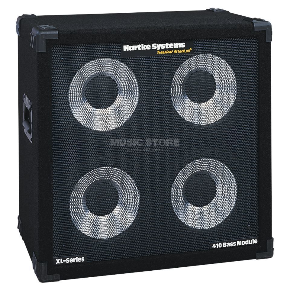 "Hartke 410 B XL Box 400 Watt 8 Ohm 4x10"" Speaker Изображение товара"