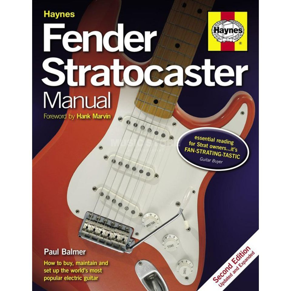 Haynes Publishing Fender Stratocaster Manual Paul Balmer, 2nd Edition Produktbillede