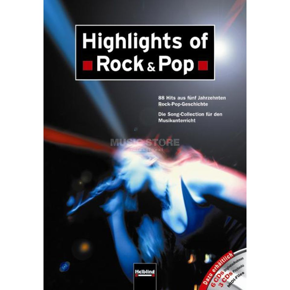 Helbling Verlag Highlights of Rock & Pop Imagem do produto