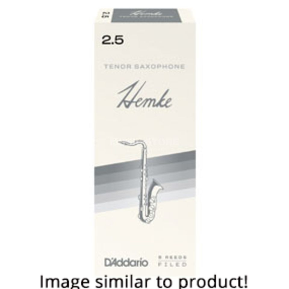 Hemke Tenor Saxophone Reeds 3.0 Box of 5 Product Image