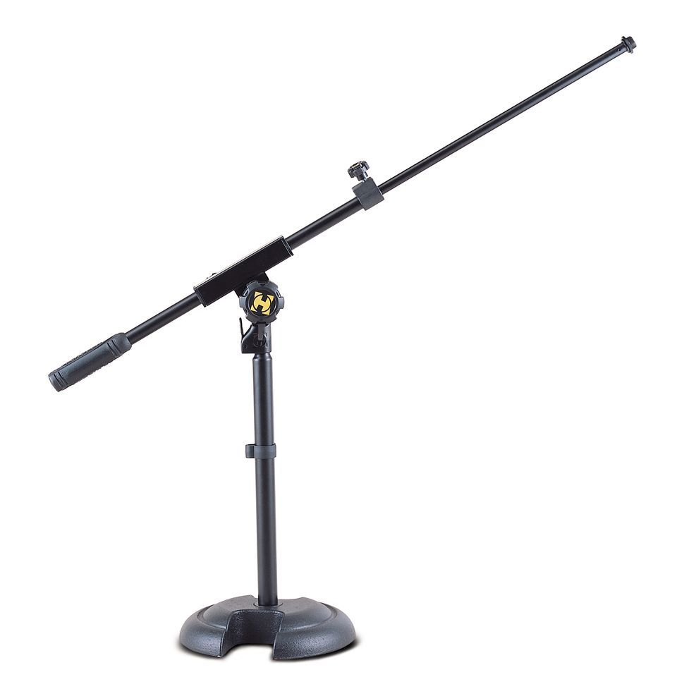 Hercules Stands HCMS-120B Microphone Stand low Round Socket short Boom Produktbillede