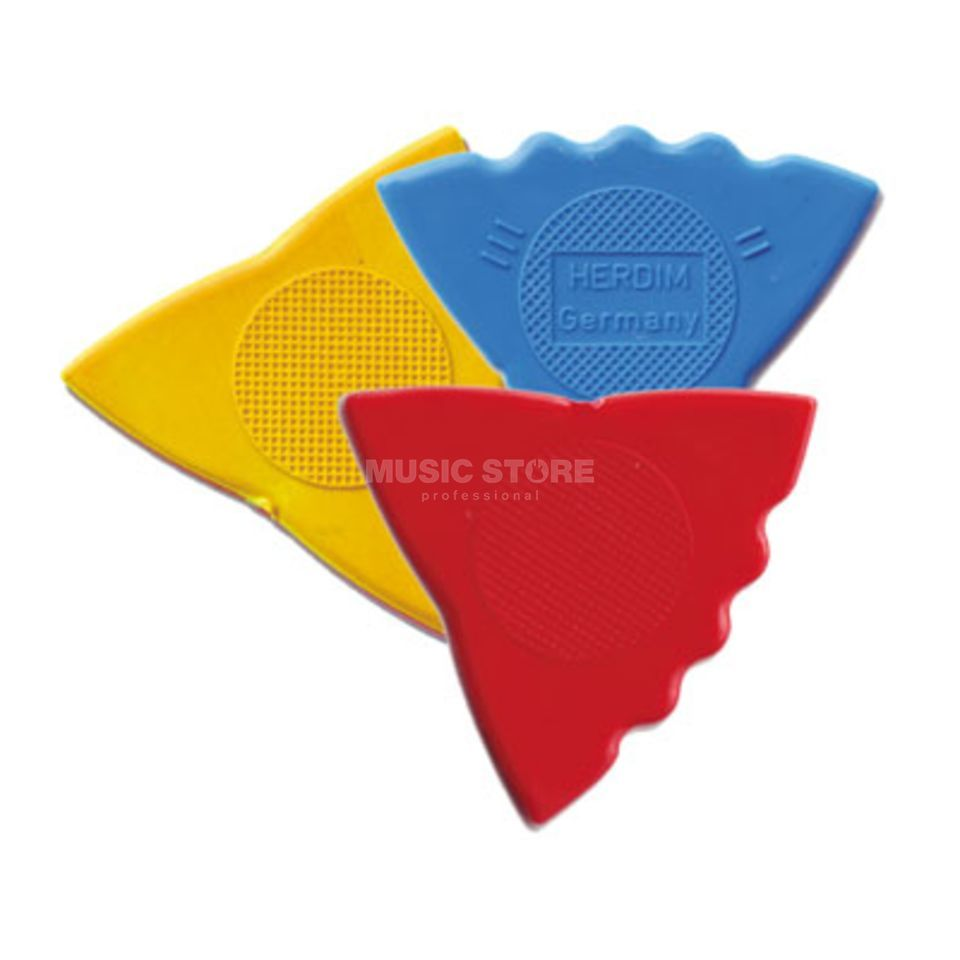Herdim Triangle Pick Guitar Pick Pack Of 12 Produktbillede