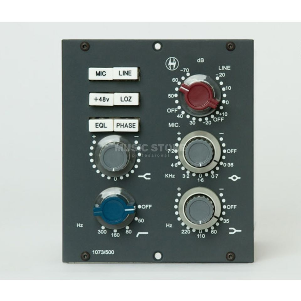 Heritage Audio 1073/500 Preamp/EQ Module for the 500 Series Produktbillede
