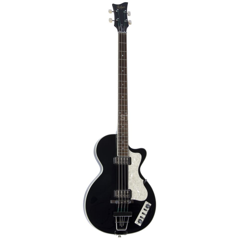 Höfner Contemp. Club Bass Black HCT-CB-BK Product Image