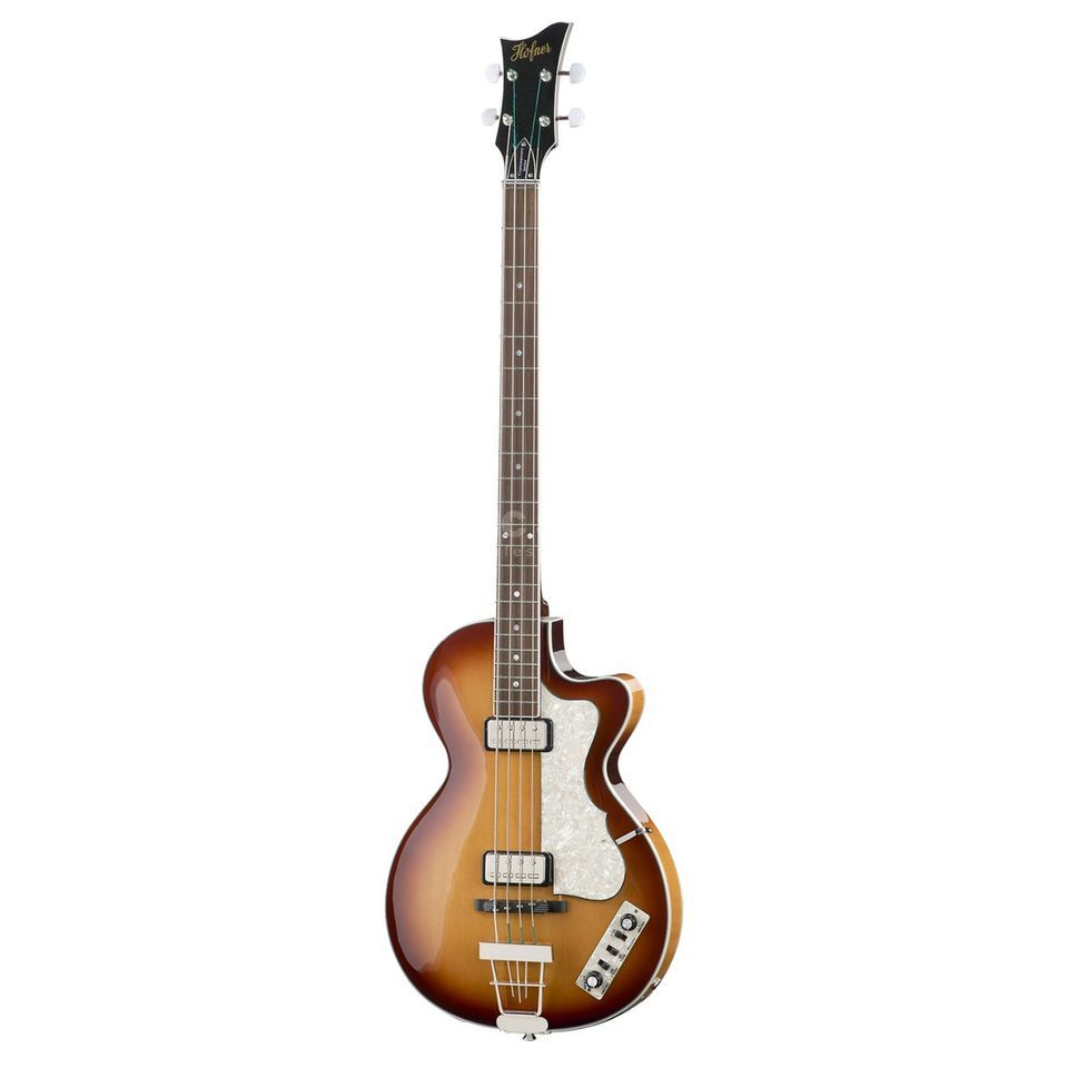 Höfner Contemp. Club Bass Sunburst HCT-CB-SB Produktbillede