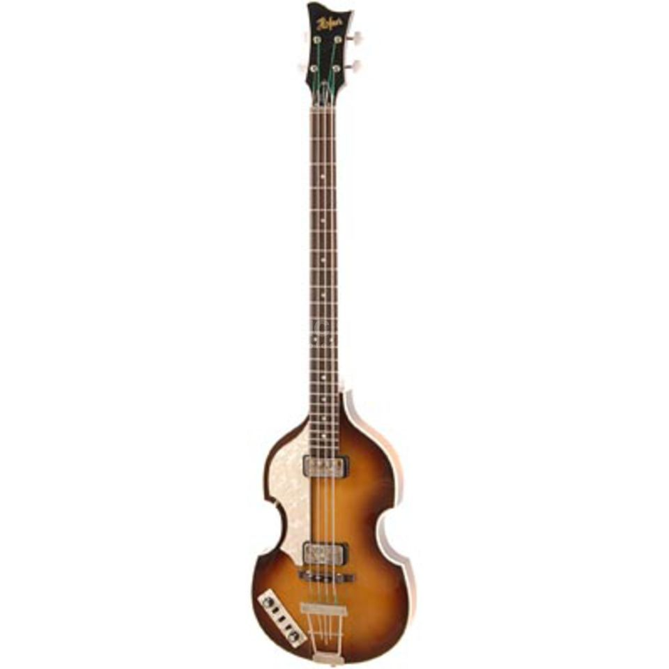 Höfner Contemp. Violin Bass LH Sunbur Lefthand HCT-500/1-LH Product Image
