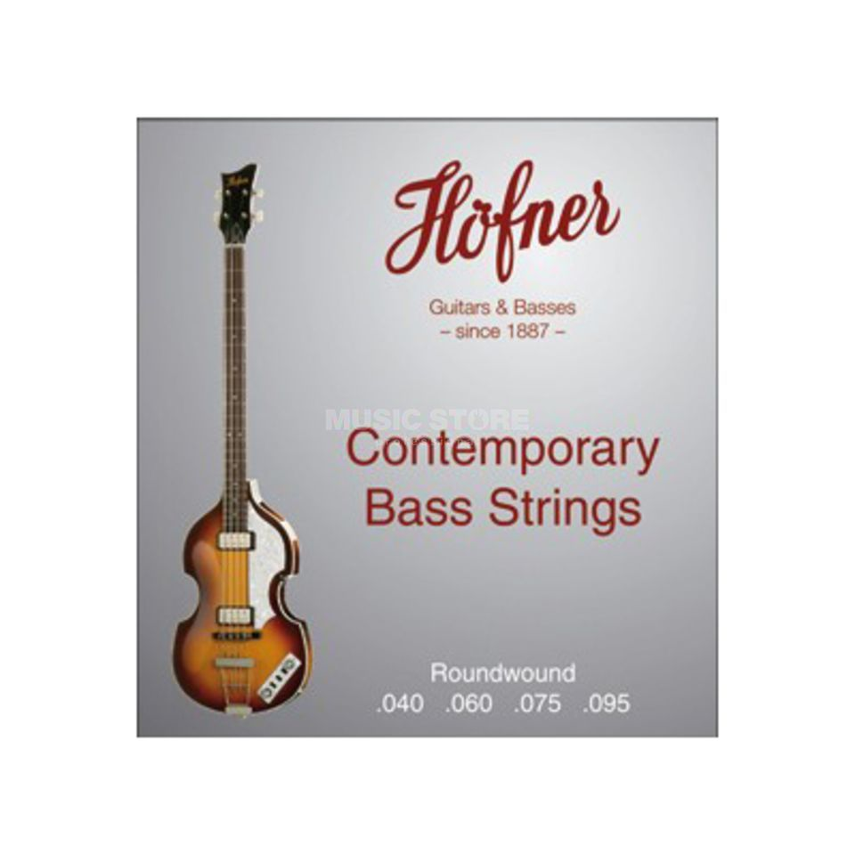 Höfner HCT1133R Bass Strings - Short Scale Round Wound  Изображение товара