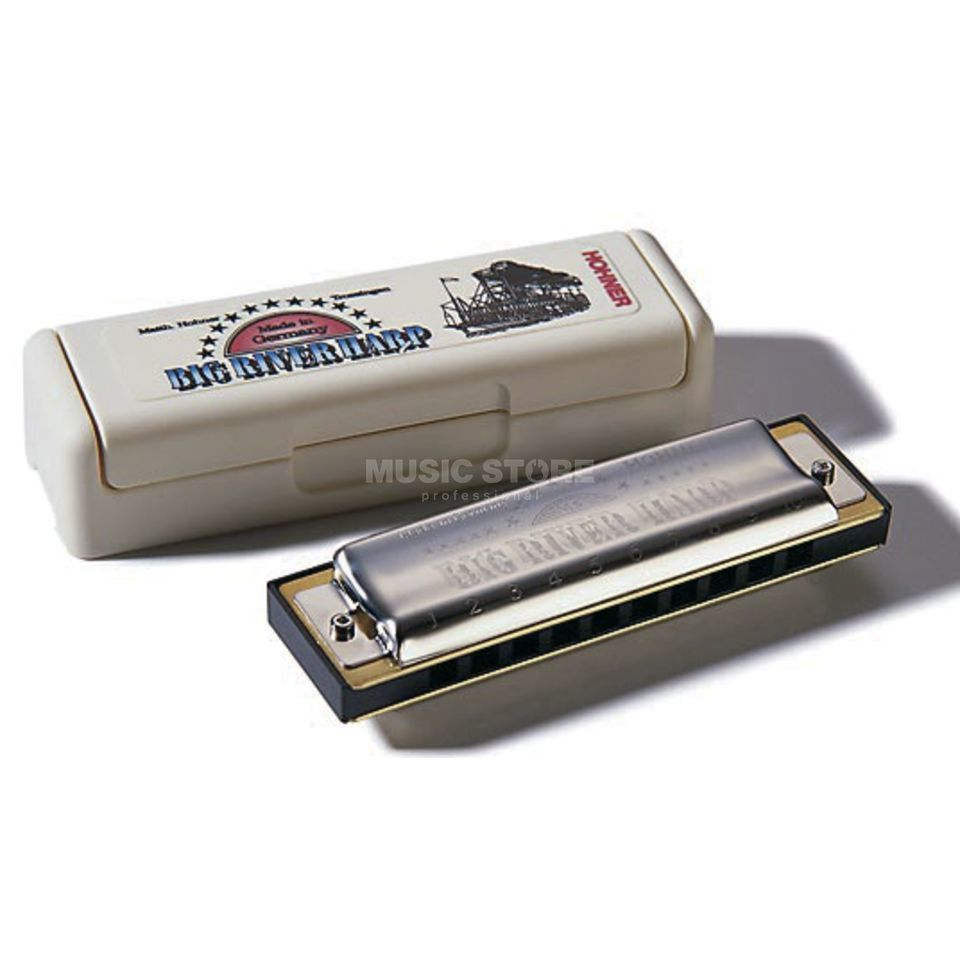 Hohner Big River Harp Bb MS  Product Image