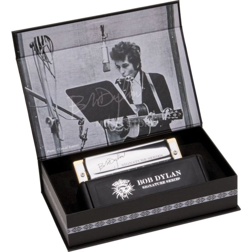 Hohner Bob Dylan Signature Harp C-Dur Productafbeelding