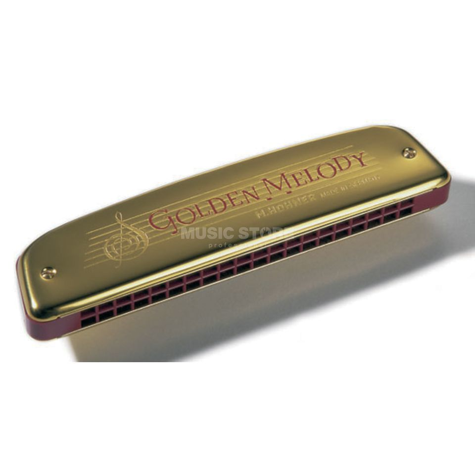 Hohner Golden Melody C 40 Gold 40 Reeds Product Image